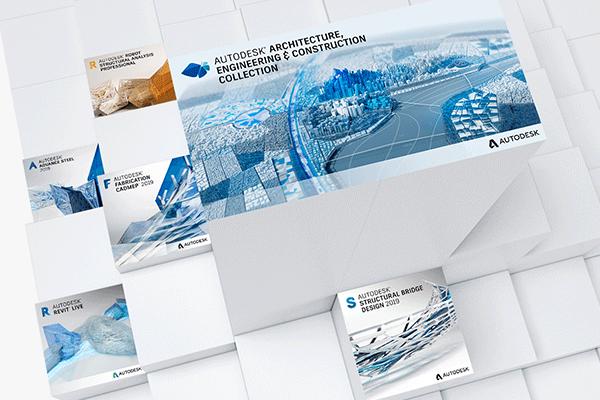 Autodesk AEC Collection 2019 Tools Podium Banner