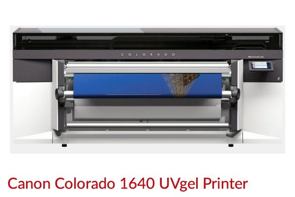Canon Colorado 1640 UVgel Printer