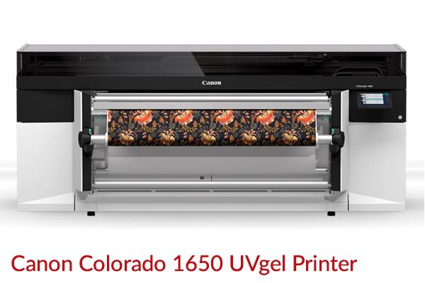 Canon Colorado 1650 UVgel Printer