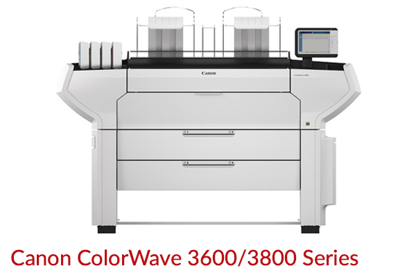 Canon Colorwave 3600/3800