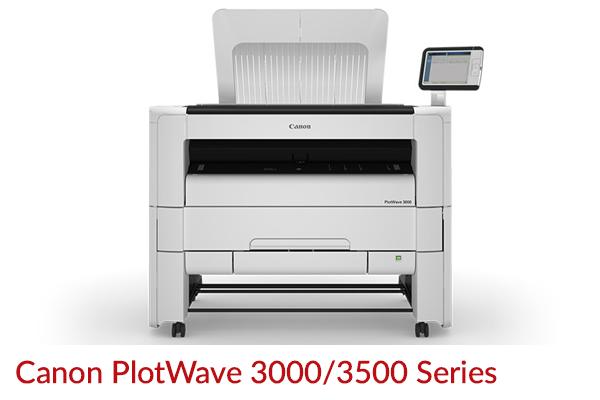 Canon Plotwave 3000/3500 Series