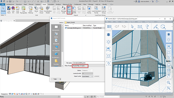 Improved FormIt Interoperability