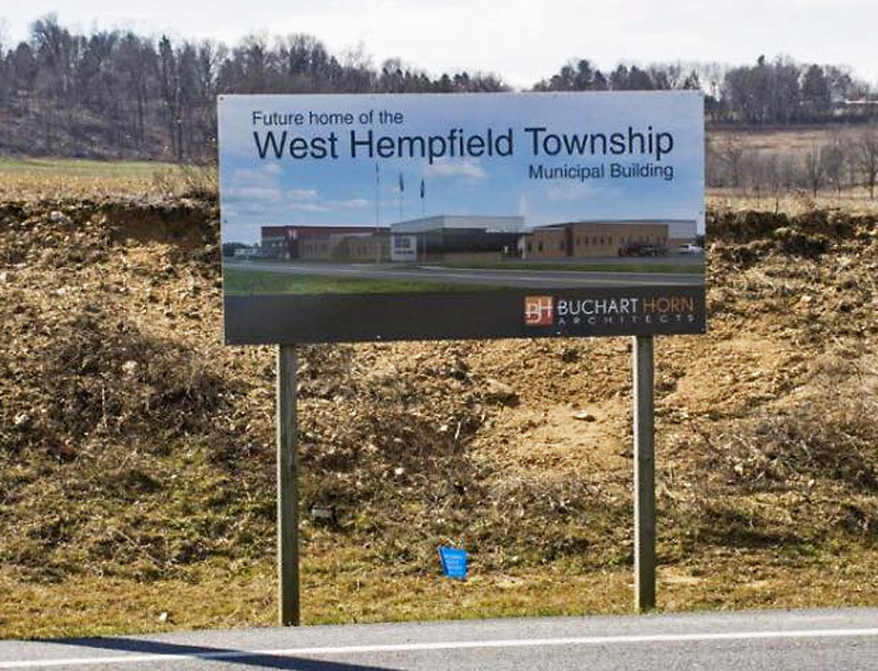 Future Building Site for West Hempfield Township Municipal Building