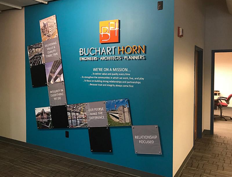 Wall Gallery at Buchart Horn