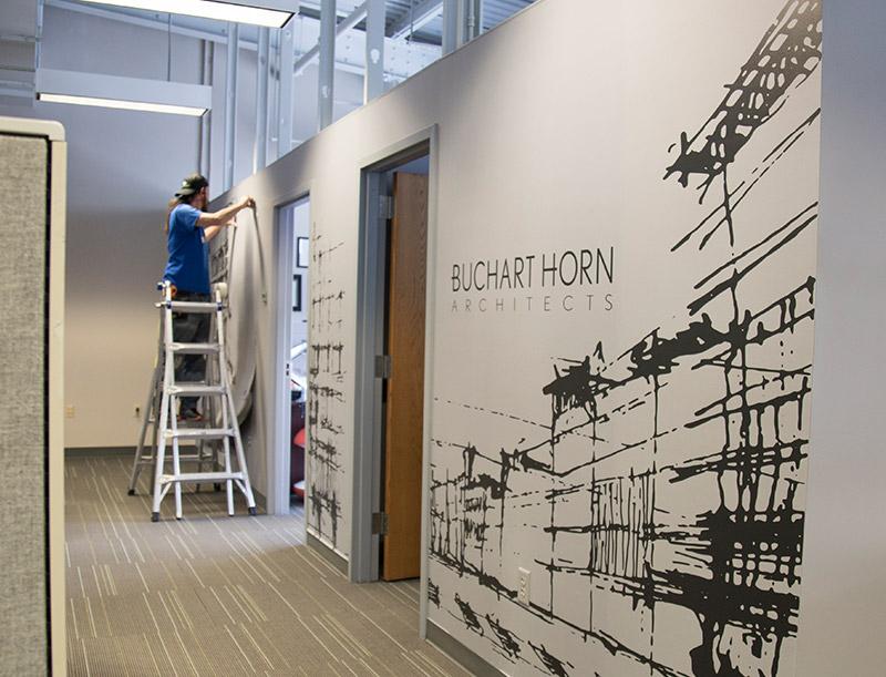 Wall Mural at Buchart Horn Architects